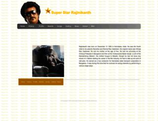 rajinikanth.com screenshot