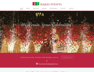 rajjasevents.com screenshot