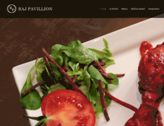 rajpavilionrestaurant.co.uk screenshot