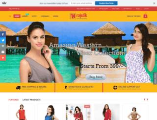 rajsilk.com screenshot