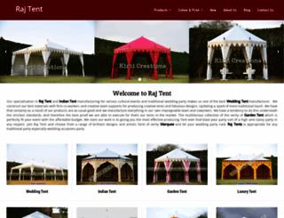 rajtent.com screenshot