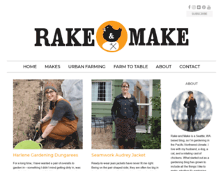 rakeandmake.com screenshot