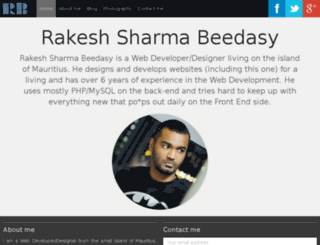 rakesh-beedasy.com screenshot