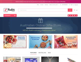 rakhi.com.au screenshot