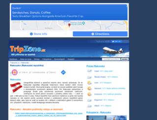 rakousko.tripzone.cz screenshot