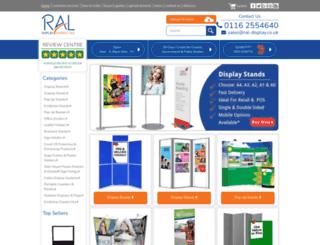ral-display.co.uk screenshot