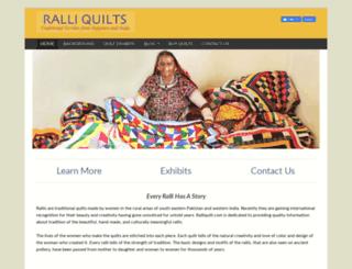 ralliquilt.com screenshot