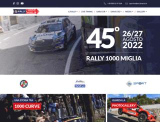 rally1000miglia.it screenshot