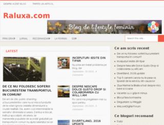 raluxa.com screenshot