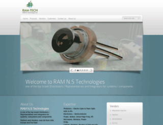 ram-tech.co.il screenshot