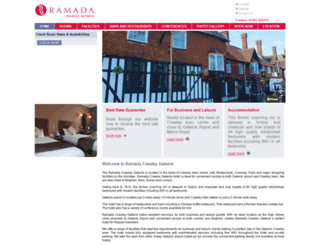 ramadagatwickhotel.com screenshot