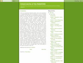 ramalila.blogspot.in screenshot