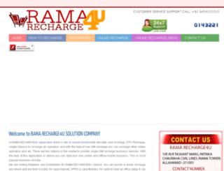 ramarecharge4u.com screenshot