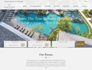 ramayanahotel.com screenshot