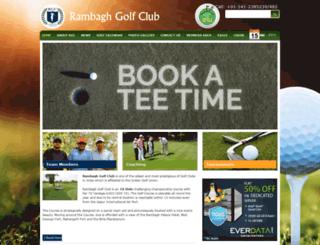 rambaghgolfclub.com screenshot