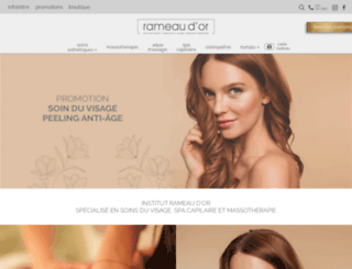 rameau-dor.com screenshot