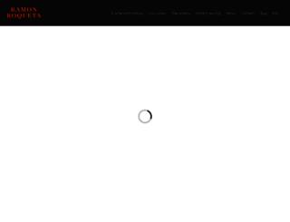 ramonroqueta.com screenshot