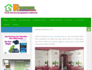 ramuantradisionalkita.com screenshot