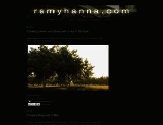 ramyhanna.com screenshot