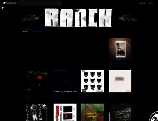 ranchjams.bandcamp.com screenshot