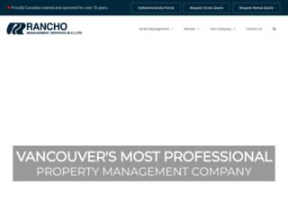 ranchovan.com screenshot