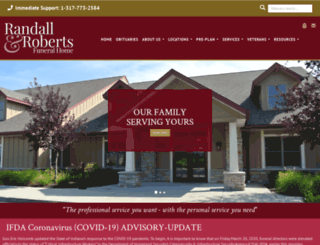 randallroberts.com screenshot