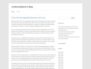 randimckibbenlc.wordpress.com screenshot