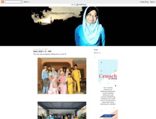 randomlynadia.blogspot.com screenshot