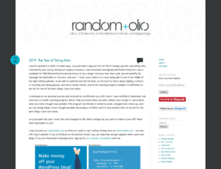 randomolio.com screenshot