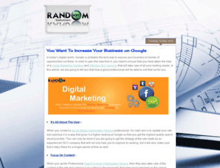 randomsoftsolution.blogspot.com screenshot