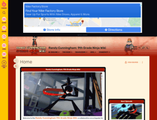 randycunningham9thgradeninja.wikia.com screenshot