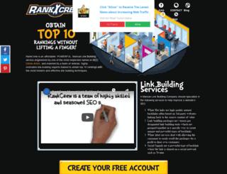 rankcrew.com screenshot