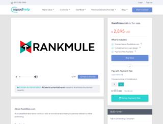 rankmule.com screenshot