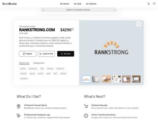 rankstrong.com screenshot