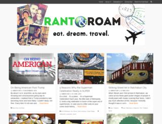 rantandroam.com screenshot