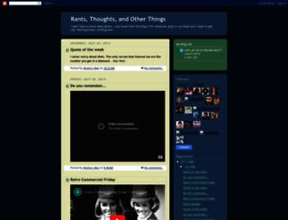 rantsthoughtsandotherthings.blogspot.com screenshot