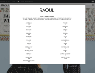 raoul.com screenshot