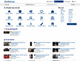 raovat.net screenshot