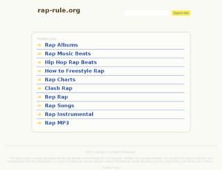 rap-rule.org screenshot