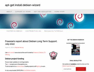 raphaelhertzog.com screenshot
