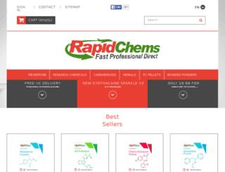 rapidchems.com screenshot