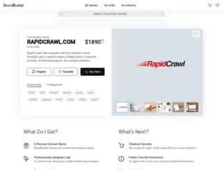 rapidcrawl.com screenshot