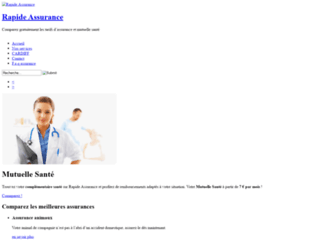rapide-assurance.com screenshot