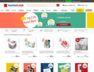 rapidflyer.fr screenshot