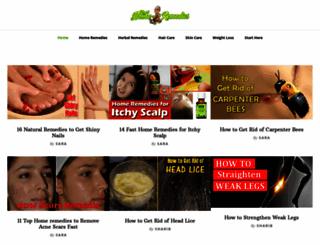 rapidhomeremedies.com screenshot