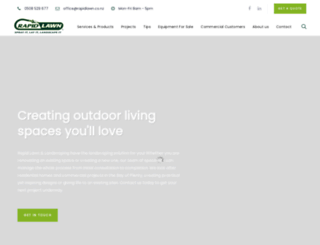 rapidlawn.co.nz screenshot
