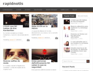 rapidnotis.in screenshot