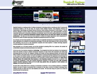 rapidsoftsystems.com screenshot