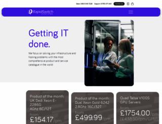 rapidswitch.com screenshot
