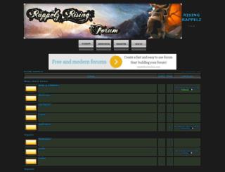 rappelzrising.forumieren.com screenshot